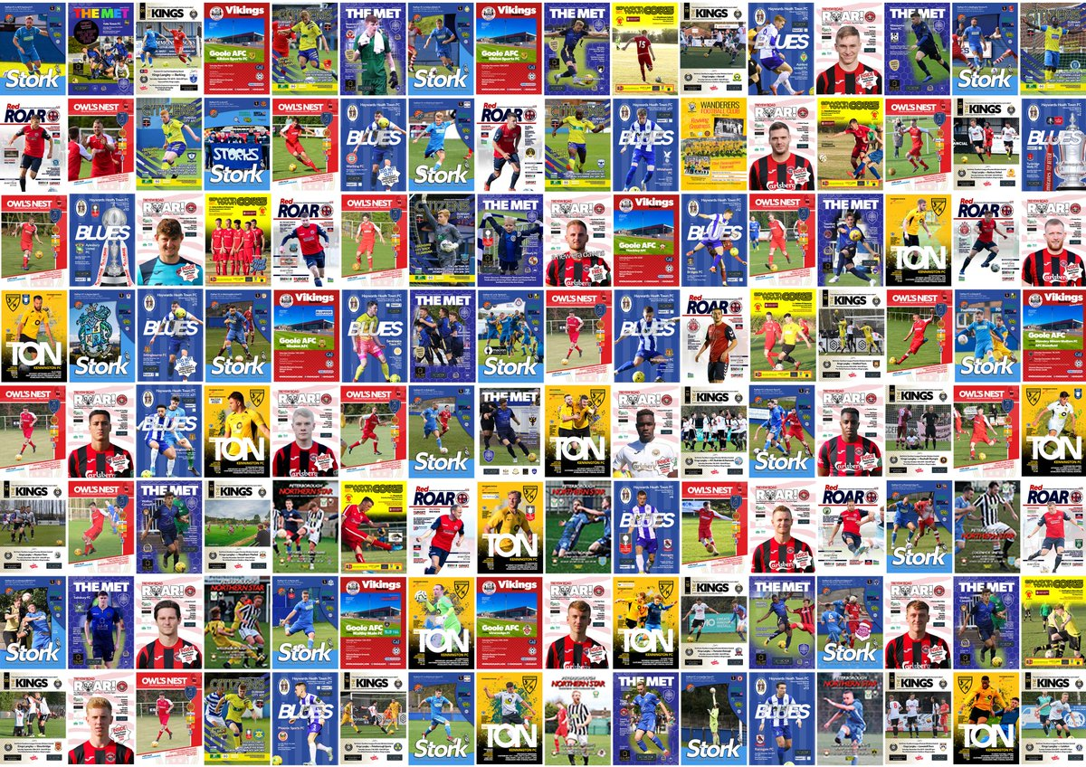NEXT SEASON!! We sent out a dozen quotes sent over the past week, and two new sign-ups! We only have capacity for so many clubs - theres only so many hours on a deadline day! So... get in touch fast if you require affordable, quality programmes! footieprint.co.uk/freequotes