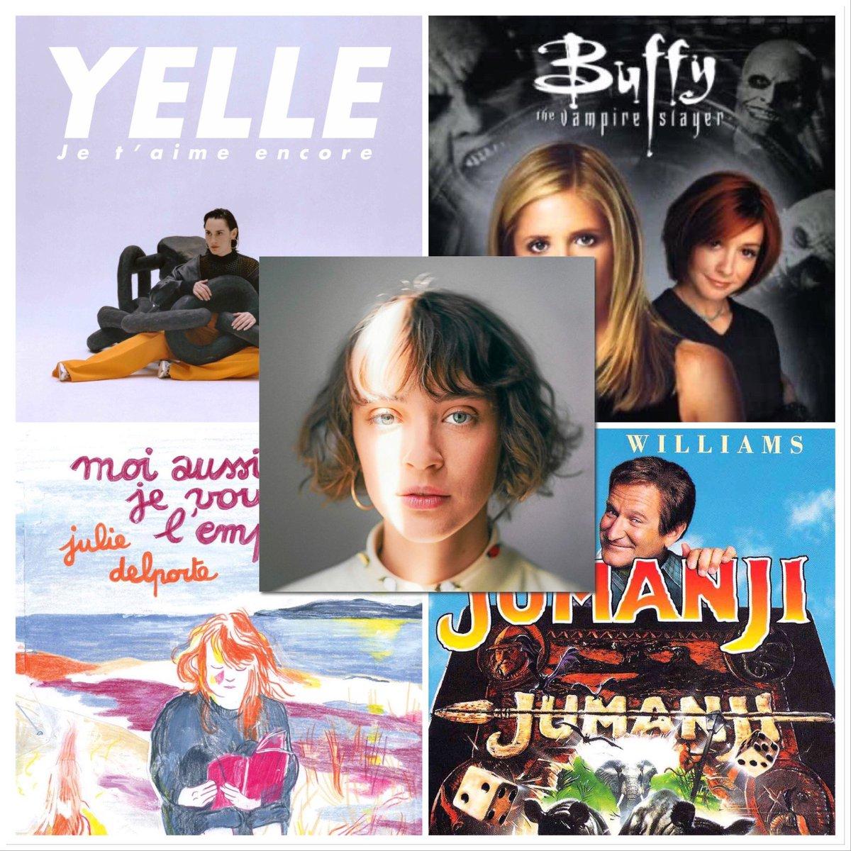 Pendant le confinement, qu'a lu, écouté et regardé @Pommeofficial ?   Réponse avec sa pop-liste ! Au programme : Yelle, Buffy, Jumanji et Julie Delporte   🎧 Pour réécouter l'émission du jour : https://t.co/vIQ9GvebhT https://t.co/op0QPqB0bR