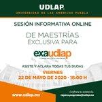 Image for the Tweet beginning: #exaUDLAP continúa tu formación con