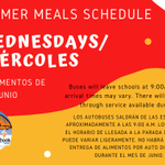 Image for the Tweet beginning: Summer meals will continue in