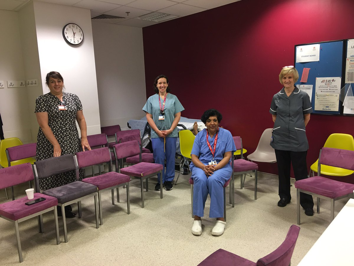 Thanks @aliherronalihe1 @susannacrowe @williams_lucie & Anita for taking me through #Covid_19 response @RLHMaternity. Excellent collaboration & innovation, led by an outstanding leadership team.  As Anita said 'necessity is the mother of invention'. So very true! Thank you 🙏 https://t.co/MiHRHrvaJN