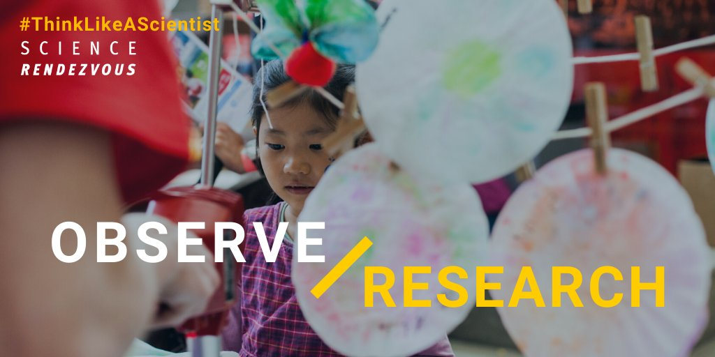 Science comes from ideas sparked by observations, like a problem we want to solve or something we're curious about! Join @twoodwpg @uwinnipeg in being #curious: observe, ask questions & #research with this activity: http://ow.ly/NBn750zLKuE   #ThinkLikeAScientist #SciRen #OdySci pic.twitter.com/OaIVCmHk05