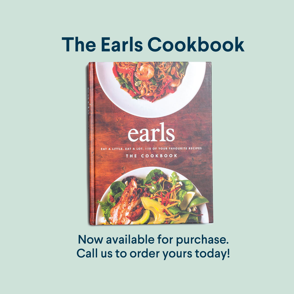 EARLS COOKBOOK — Missing your Earls fix? Put your chef skills to the test and whip up some of your favourite dishes at home with our very own #EarlsCookbook! And yes, this includes our famous Mediterranean Linguine 😍  Pickup only. Not available through online ordering. https://t.co/WGcy9qt1iq