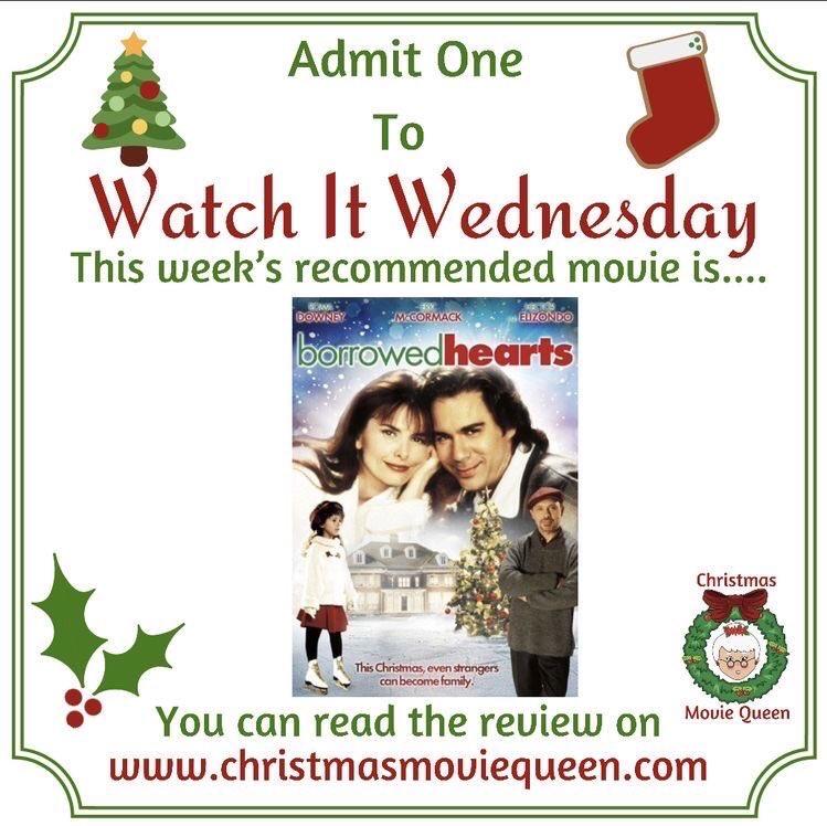 This is an amazing movie. Romance, family, drama, and comedy. #WatchItWednesday #Christmas  #Christmasmoviespic.twitter.com/XzkAeQIncI