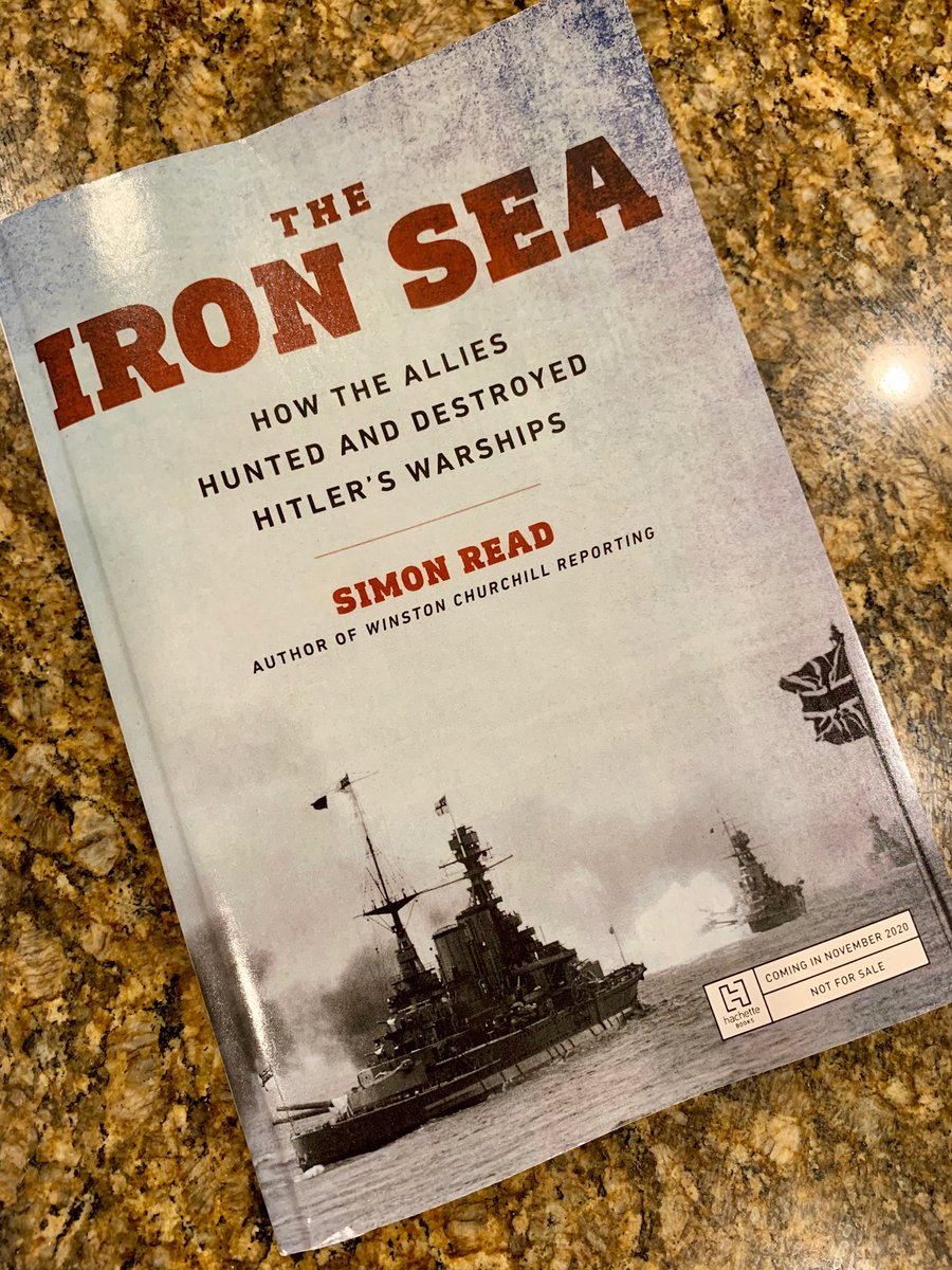 My Advance Reading Copies of IRON SEA (@HachetteBooks) arrived last night. Looking pretty sharp, if I do say so myself. The book hits shelves in November.