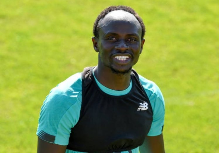 Good to see Mané back smiling in training! https://t.co/tLuwmADhjk
