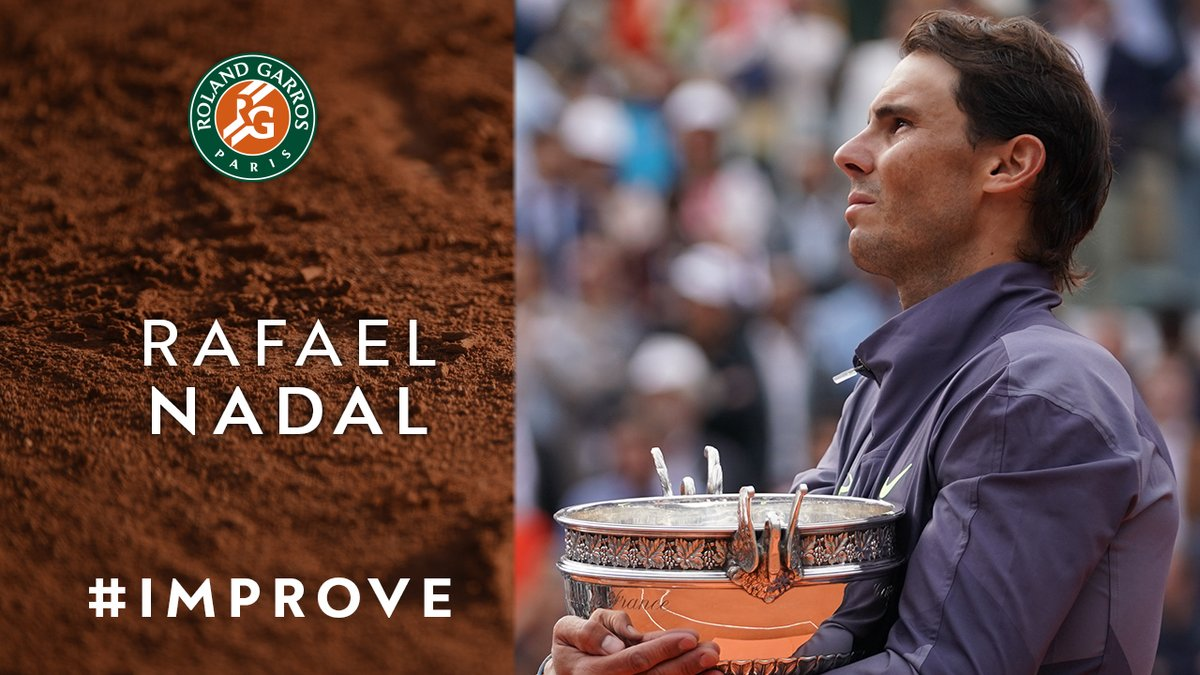 """🗯 @RafaelNadal 🗯 """"I learned during all my career to enjoy suffering. You can lose, you can win. That's part of the sport""""  🎥: @rolandgarros    https://t.co/sY1VtT7Kyl"""