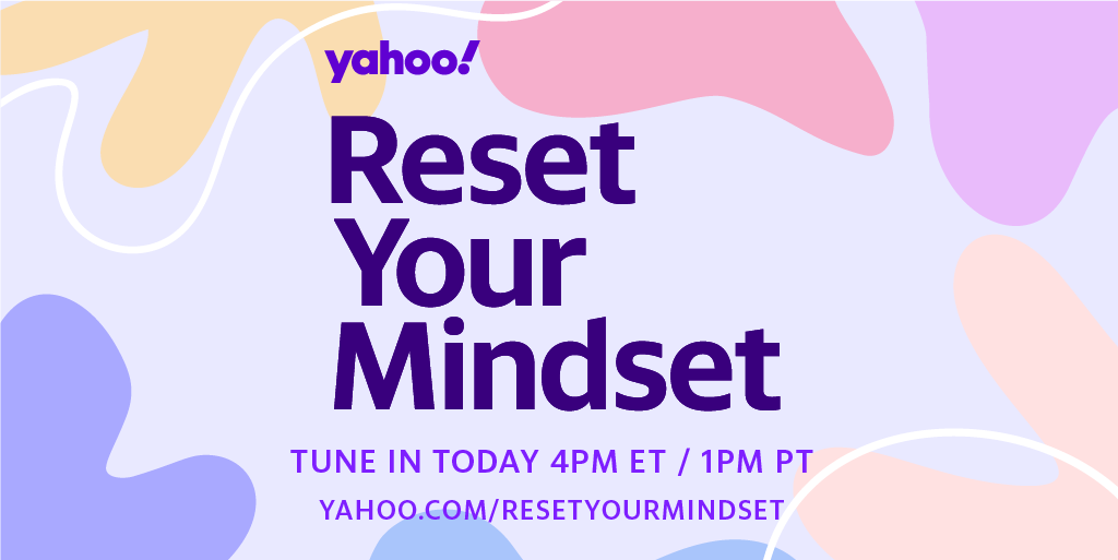 It's time for a reset. Join @YahooLife today at 4 p.m. ET/ 1 p.m. PT for expert tips and strategies for finding moments of peace, joy and meaning during these unprecedented times. #ResetYourMindset ➡️yahoo.com/resetyourminds…