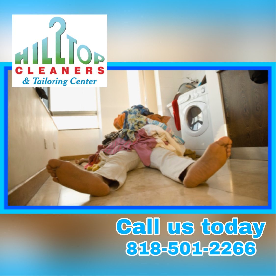Is #quarantine #laundry taking over ur life?  Not to worry #HilltopCleaners is open for business from 7am-7pm, 7 days a week to take care of ur #drycleaning needs. Come on in or call to setup a #freepickupanddelivery 818-501-2266. #encino #quarantinelife #quarantineandchill pic.twitter.com/XXQKcLJok1