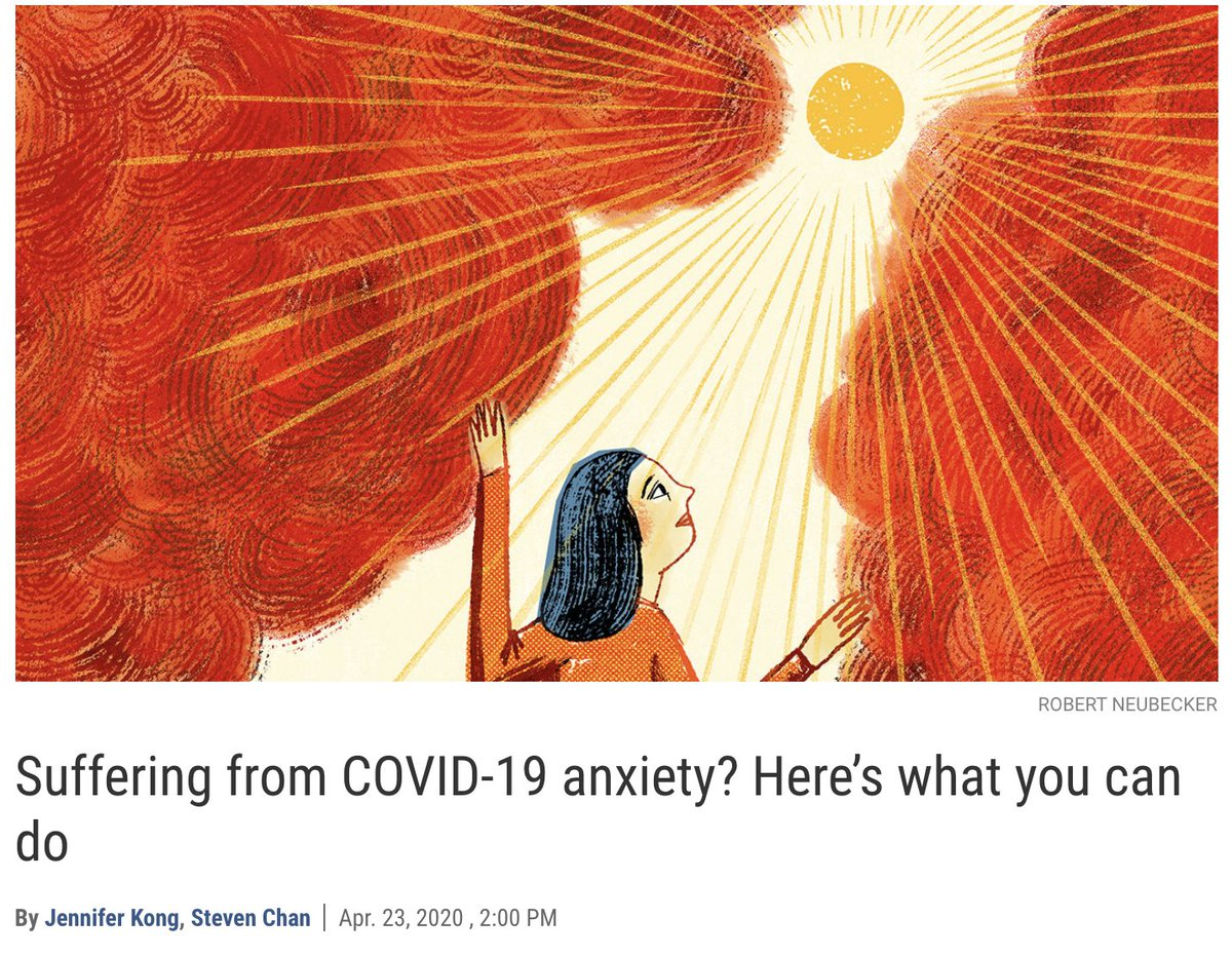 """The flood of articles offering """"Quick tips for controlling your Covid anxiety"""" makes me nervous. After 30 years treating patients in one of the first specialty clinics devoted to anxiety disorders, I should have super advice, right? Not really, but here are 6 observations."""