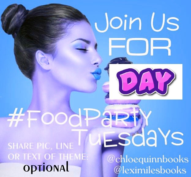 #foodparty Tues 5/26 Theme: #DAY Please share all of your lines/pic/random thoughts about the theme! No links. No limit to posts. Share and #havefunpic.twitter.com/OaZFHAv84M