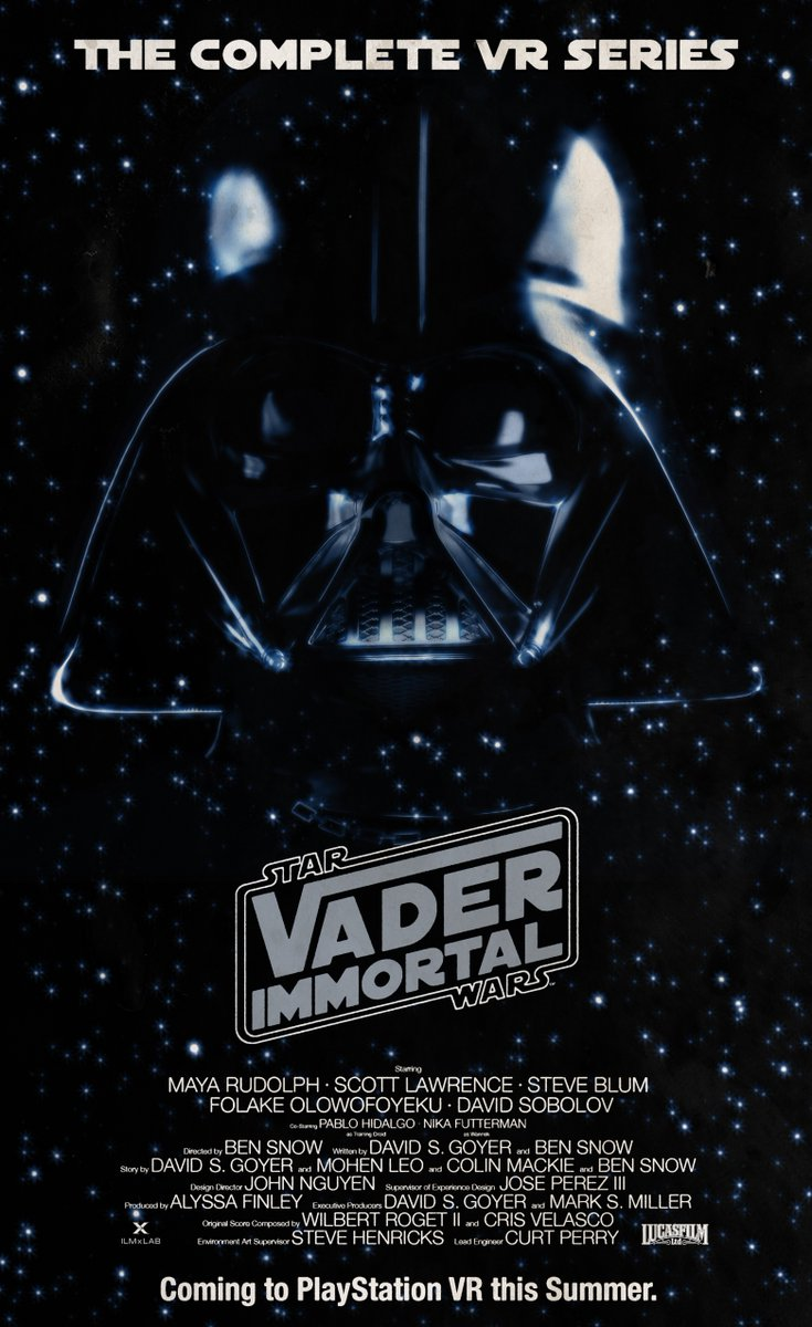 To celebrate the 40th anniversary of @StarWars: The Empire Strikes Back and the one year anniversary of #VaderImmortal, we recreated this iconic poster from the 1980 film. To download as a desktop or mobile wallpaper: https://t.co/yCg6oK80zF #ESB40 https://t.co/nNrnen539L