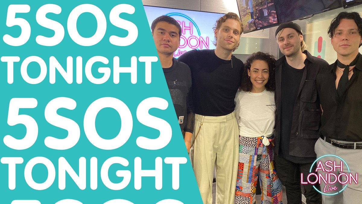 .@Ashton5SOS and @Calum5SOS are having a zoom date with Ash! 7PM AEST 👂 play.hit.com.au/listen