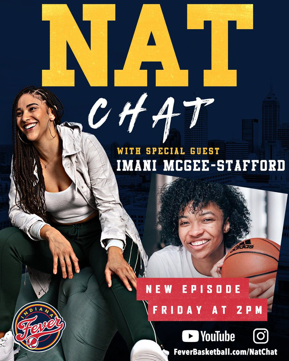 Episode 2 of #NatChat this Friday on YouTube and IGTV! https://t.co/BpyKih4T4X