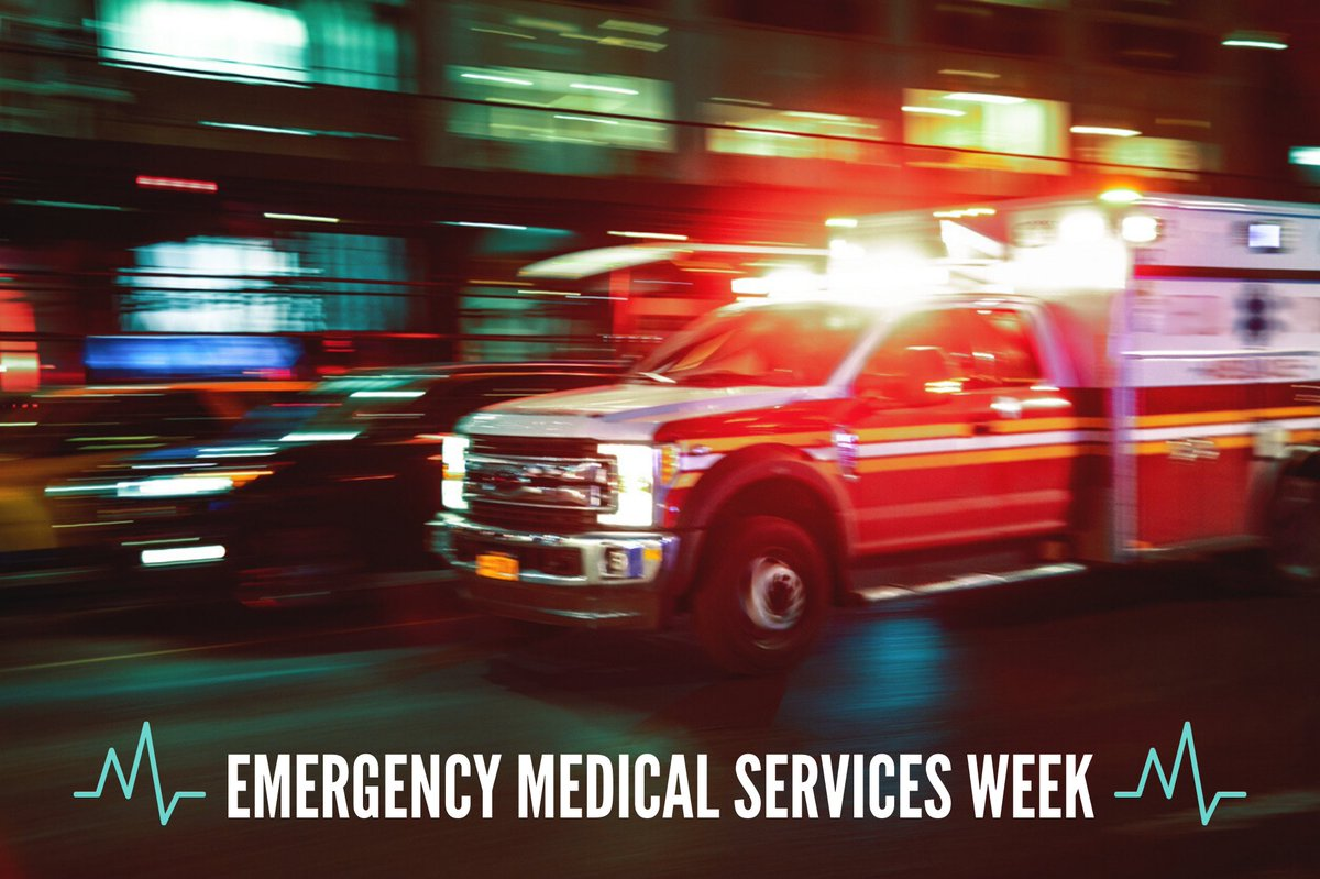 Thank you to our emergency medical service workers who are on the frontlines every day saving lives. We are grateful for your dedication and resilience. #EMSWeek