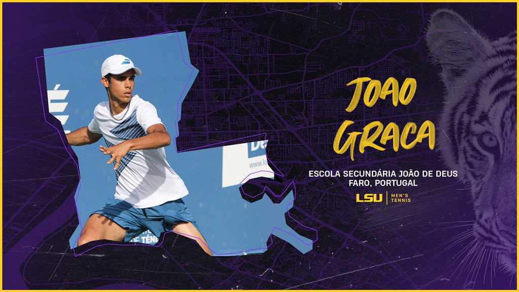 Hold That Tiger! From Portugal to Baton Rouge, give an LSU welcome to newest signee Joao Graca! 📄 lsul.su/3bIw30k