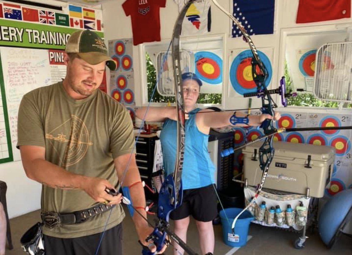 NEWS. World Champion Brady Ellison, and 12- and 9-Year-Old Archers Top Train To Win Challenge Week 1 🏹 https://t.co/5rbD5q8i8u https://t.co/JGyE8QoA72