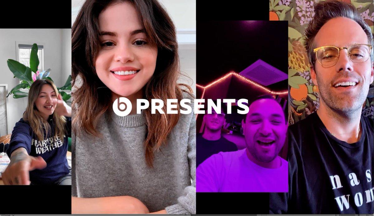 .@SelenaGomez shares the inspiration behind her #Rare track, #Boyfriend alongside @JuliaMichaels, @JustTranter & #TheRoommates for @BeatsByDre #BeatsxBeats.pic.twitter.com/MEz6qFKNYP