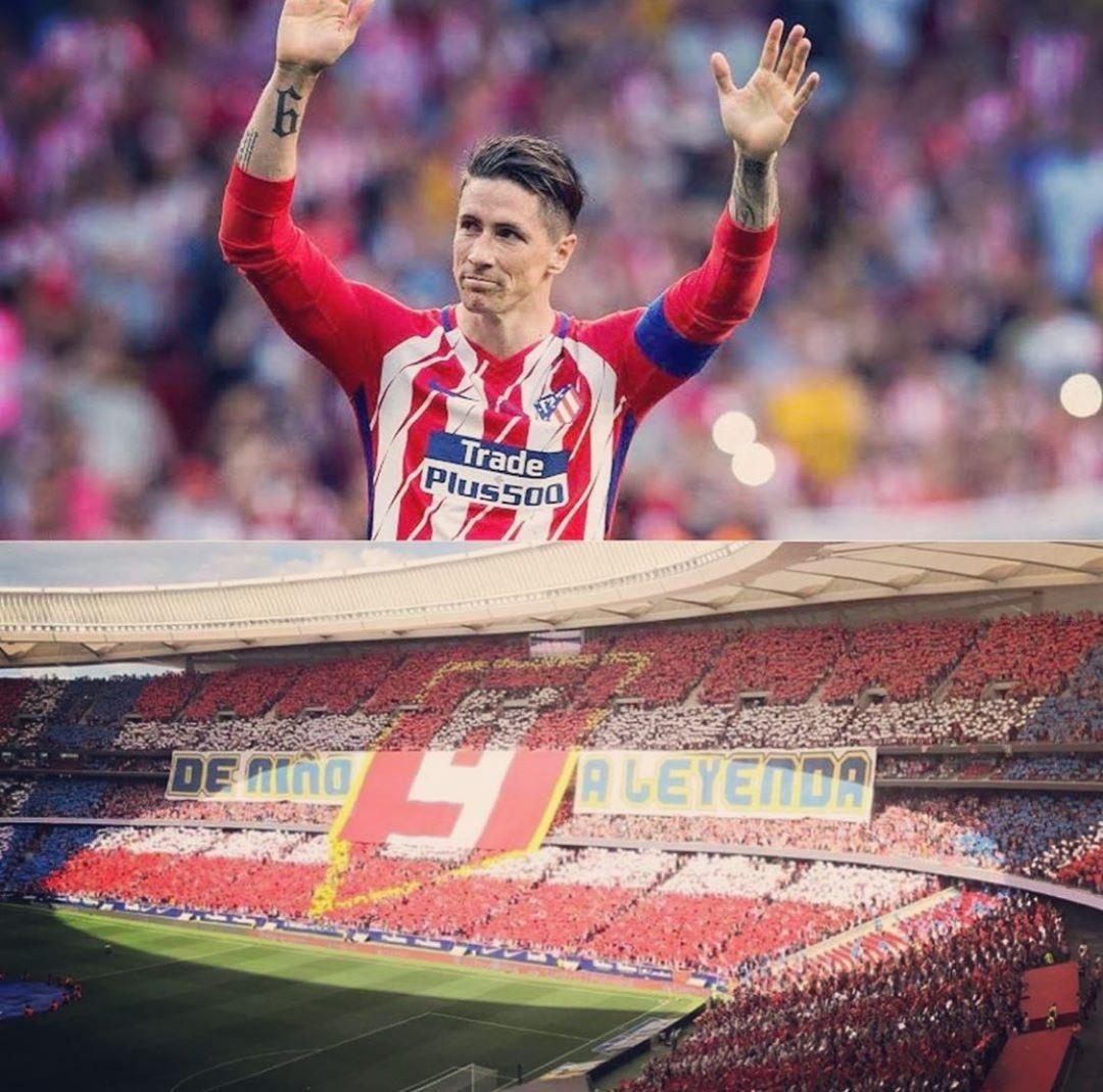 El día que nunca quise que llegara, se convirtió en uno de los más felices. Eternamente agradecido @Atleti #2YearsAgo