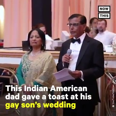 'Do I love my son any less at 4:31 than I loved him at 4:24? … and the answer was 'no, I still love him the same.'' — This Indian father's speech on his gay son's wedding day will move you to tears  #RepresentAsian (via @paragie & @vaibhav86jain) https://t.co/EMGbWeRomP