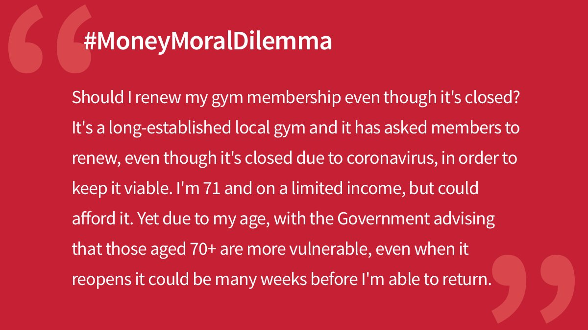 Would you keep paying for the membership? 🏋️‍♀️ #MoneyMoralDilemma mse.me/36e2bHY