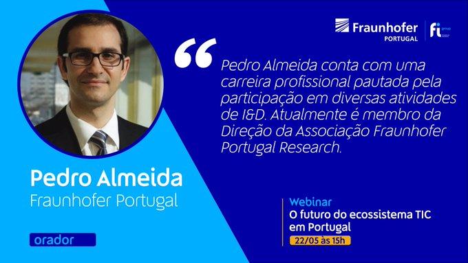 Esta sexta-feira, 22 de maio, às 15h no Webinar: O futuro do ecossistema TIC em Portugal um dos....