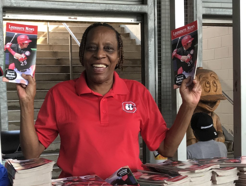 @bensbiz Well of course we ❤️ every single single member of our amazing gameday staff. But hard not to have a little extra love for the World Famous Wanda the Program Lady! 30 plus years and still going!