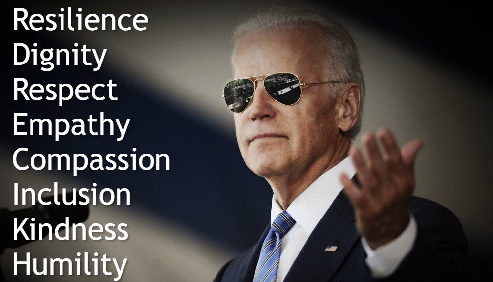 @EarlOfEnough Women it looks like we've got some work to do on these men! Rolling up my sleeves… #PresidentBiden