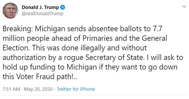 @fadde @PressSec @TeamTrump We are talking about absentee ballot *applications*: