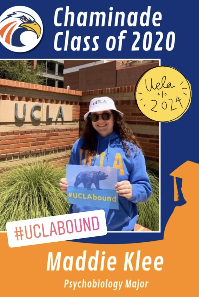 Congratulations Maddie! #chaminade2020 #UCLABound @ChaminadeCCP @chaminade2020 https://t.co/5GZqNWzIfz