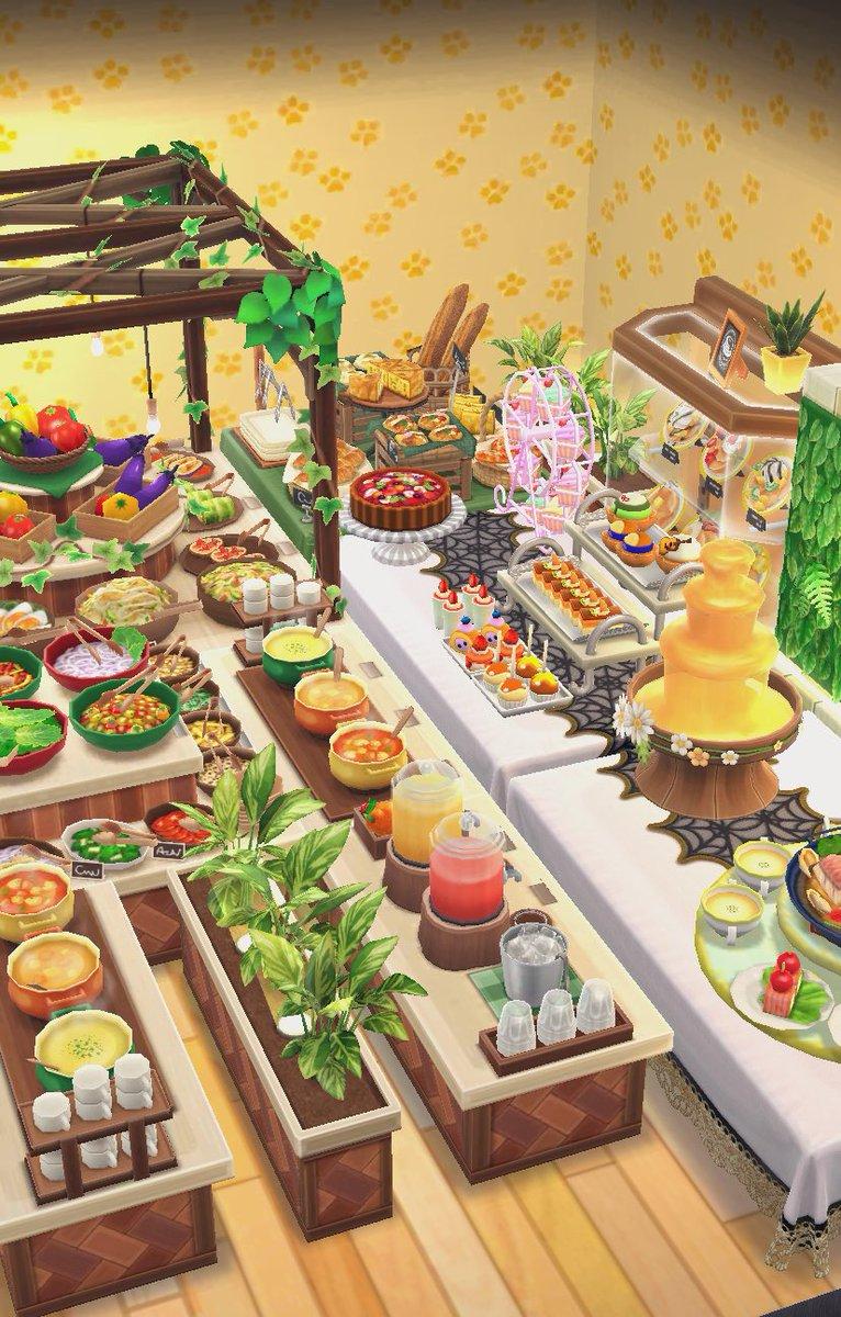 あつ森 家具 食べ物