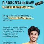 Image for the Tweet beginning: Aquest dijous a les 1️⃣2️⃣.2️⃣7️⃣h