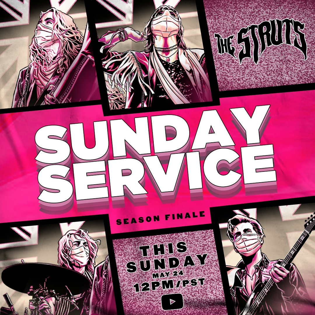 This Sunday we're bringing you the season finale of our #SundayService series! Miss an episode? Don't worry - you can rewatch or catch up on all of our previous episodes right here: https://t.co/mZuJAPSxab  Hope you all have enjoyed this as much as we enjoyed making it for you x https://t.co/mqh8hb80la