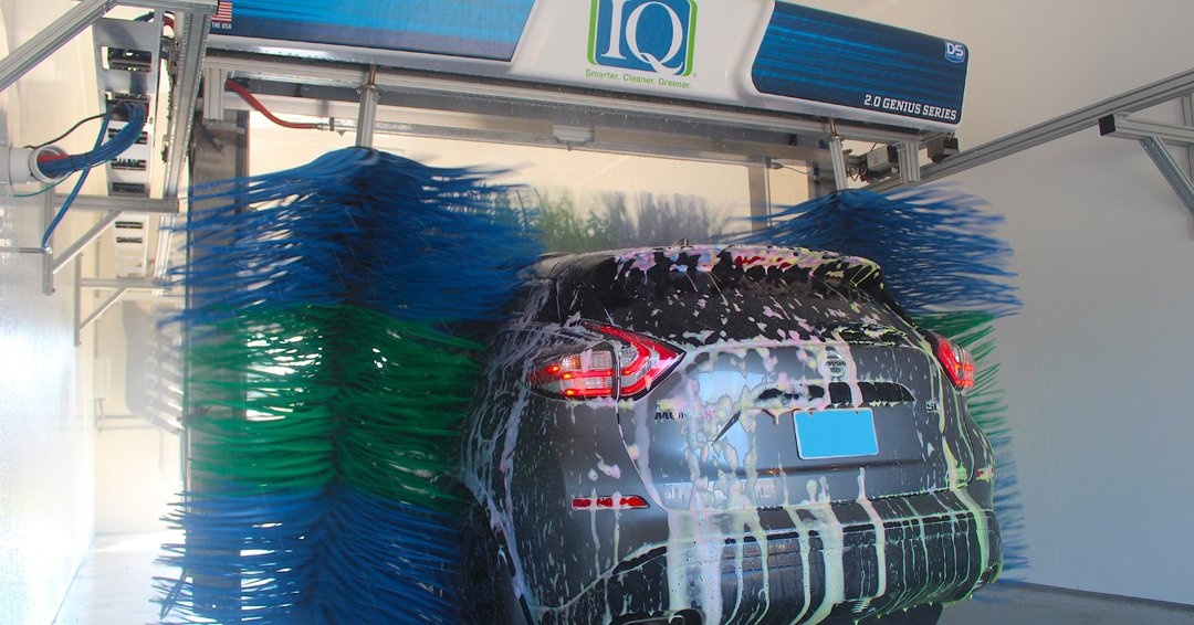 """D&S Car Wash Equipment Co. on Twitter: """"The IQ is D&S' Smarter, Cleaner,  and Greener approach to providing patrons with the best wash possible while  reducing costs, water, and chemicals for wash"""