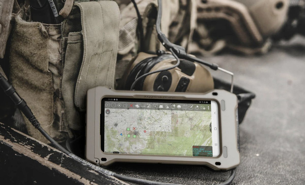 Samsung's Galaxy S20 Tactical Edition dresses up its flagship for the army