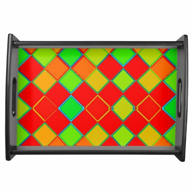 Colorful bright diamond shapes on serving tray #diamond #shapes #lines #green #yellow #servingtray #zazzle #giftideaspic.twitter.com/wGStMfNoP3