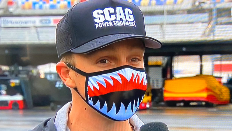 Who wore it better?  @JHNemechek or @NoahGragson? 🦈🦈🦈