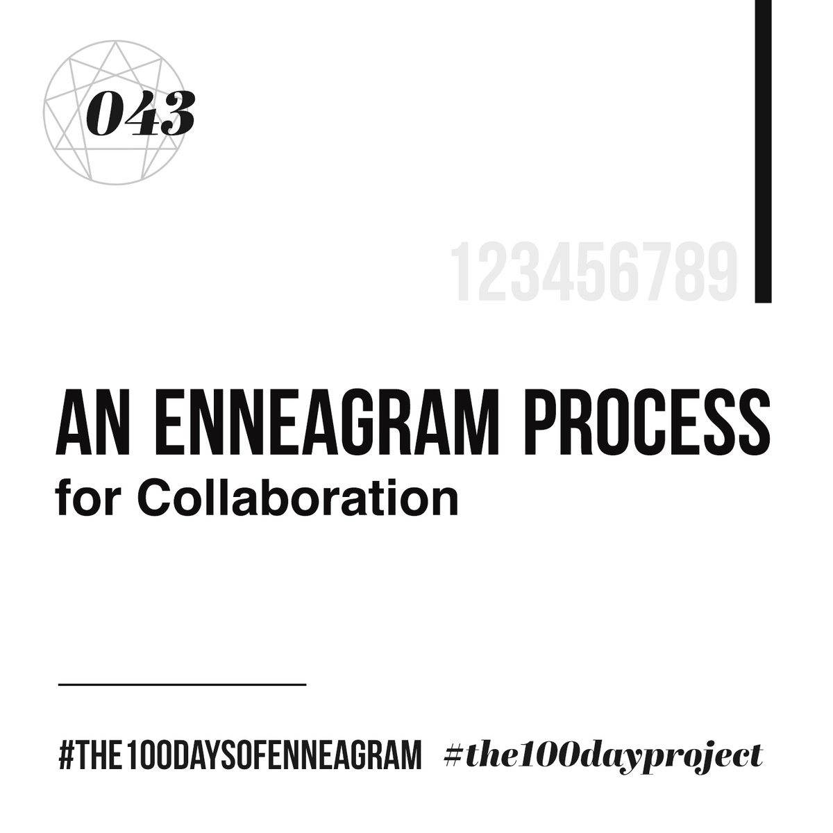 043/100 | An Enneagram Process for Collaboration Listen at https://t.co/MBo795Vt8V   Still a day behind. Working on it.  #the100dayproject #the100daysofEnneagram #enneagram #collaborations #questions #reflection https://t.co/ntwFRgfXlG