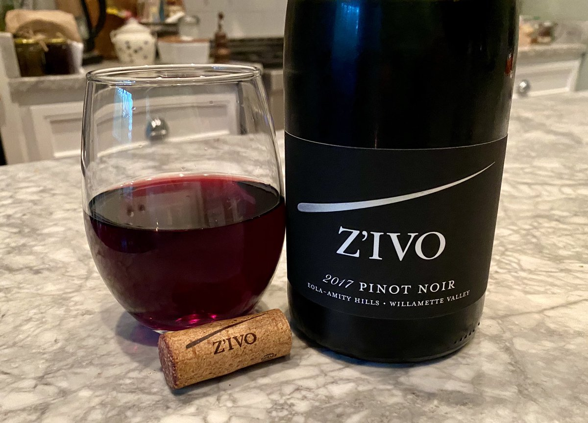 This one is lovely. #pinotnoir @ZIVOwines