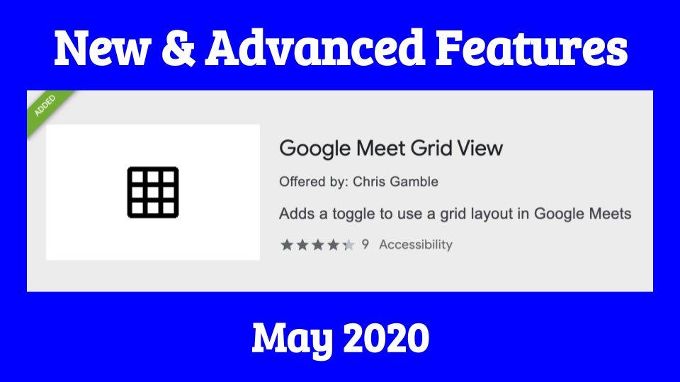 KEEP YOUR #GoogleMeet TOOLBAR ON... ALWAYS!!! 🤯🤯🤯 & Other Cool New features in the Update version of Grid View for Google Meet. Also a #ProTip walk thru. youtu.be/O4Uvawoa9cI #Edtech #GSuiteEdu #AlisalStrong #EdTechTeam #AlisalFuerte #SomosCUE #Teachers #Leaders #googleei