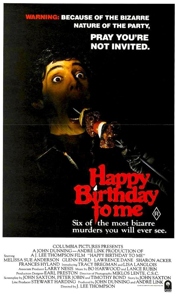 HAPPY BIRTHDAY TO ME (1981) pray you're not invited. #EyesAndMouthOpen #horror pic.twitter.com/Cvn3jzELua