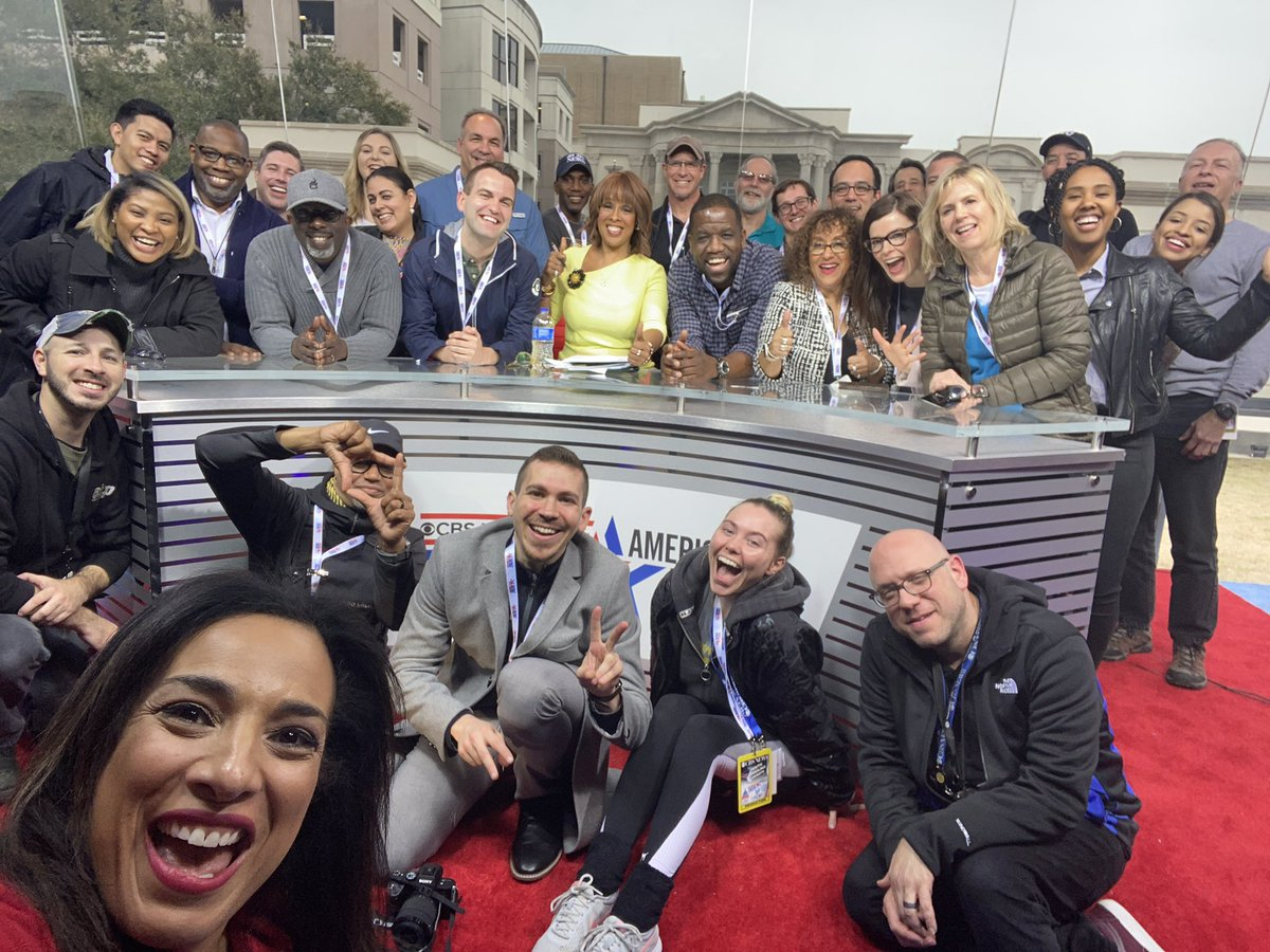 FEBRUARY:   When the team went to Charleston to cover the 2020 @CBSNews/@Twitter  #DemDebate! <br>http://pic.twitter.com/G2jgyhGLJO – à Charleston Gaillard Center