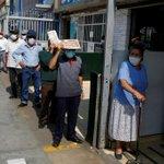 Image for the Tweet beginning: Peru coronavirus cases surpass 100,000