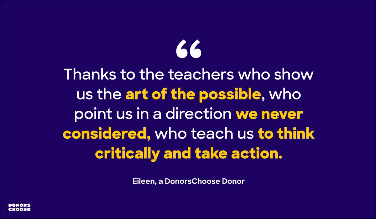 Every day, teachers' resilience inspires us to go above and beyond.