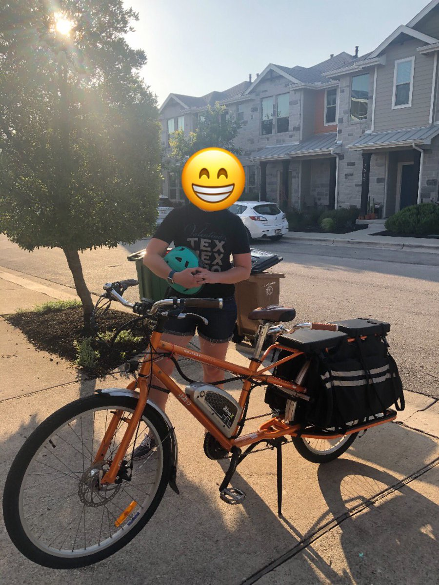 Bittersweet moment! After 4.5 years and 7,828 miles, our Yuba has found a new owner. They have two small kids so will get lots of love for years to come. #cargoBike pic.twitter.com/zIw3Q2iXGH
