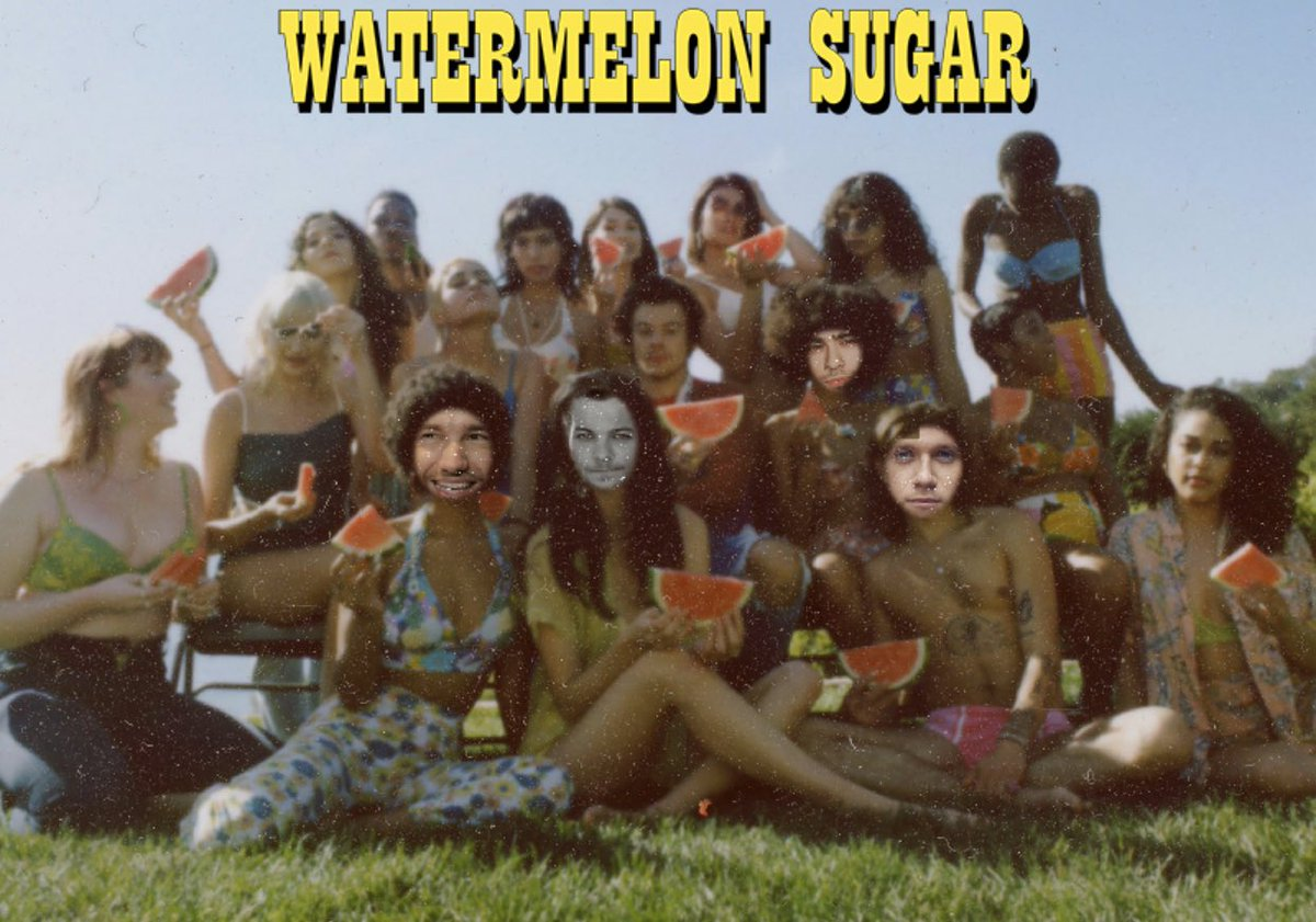 #1D #theyareback #DoYouKnowWhoYouAre #tpwk #treatpeoplewithkindness #WatermelonSugarhigh #onedirection #reunion #harrystyles #watermelonsugar