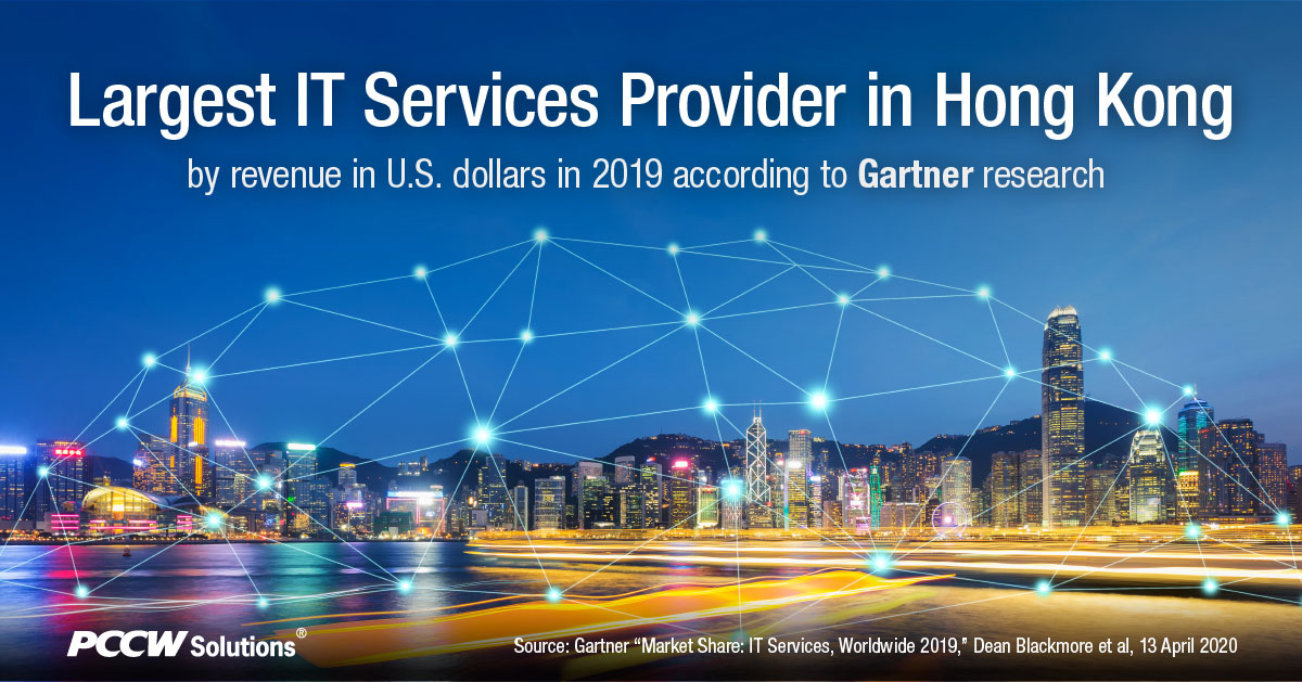 PCCW Solutions once again is the largest IT Services Provider in Hong Kong by revenue in U.S. dollars in 2019. Thank you to our customers for the trust and support! We will continue the growth momentum in scaling our innovation and services excellence across the region. https://t.co/ESDj4YAjmy