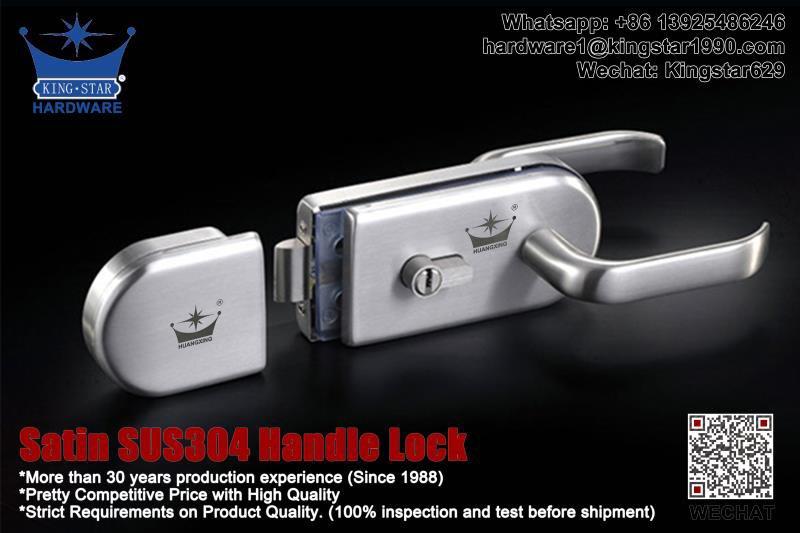 Satin SUS304 Handle Lock for Double Glass Door  #hardware #hardwaremanufacturer #hardwaresupplier #doorlock #glassfittings #centerlock  #handlelock #doorhardware #glassdoorlock https://t.co/nmB7plkau8