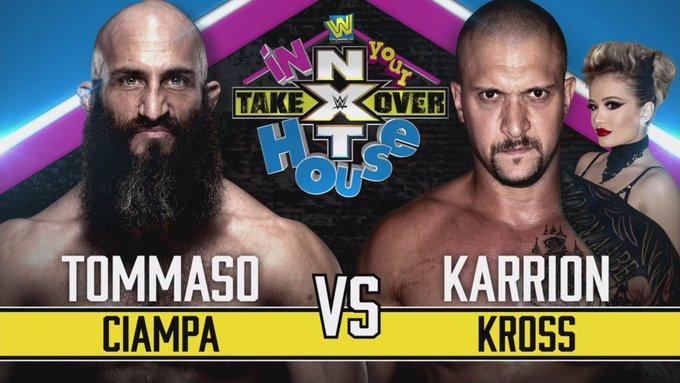 """Grande combate é anunciado para o NXT TakeOver """"In Your House"""""""