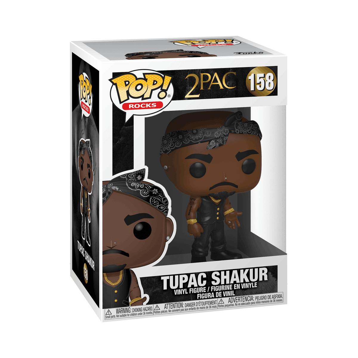 RT & follow @OriginalFunko for the chance to win a Tupac Shakur Pop! bit.ly/3ebh68N